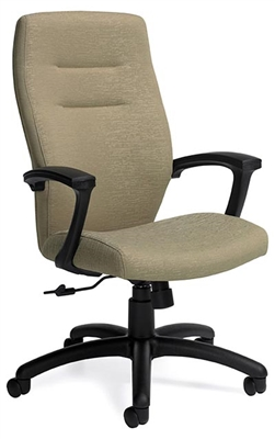 Global Synopsis 5090 4 High Back executive office chair