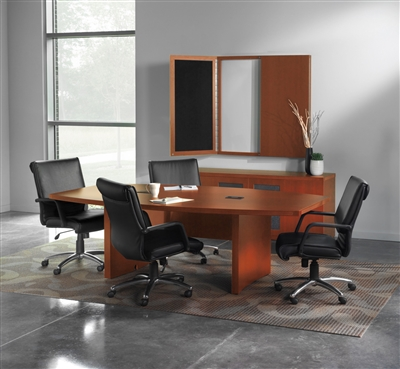 Innovative  Seating LE804 Leather Office Chair From Boca Raton Office Furniture
