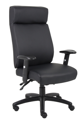 Boss High Back Caressoft Multi Function Executive Chair