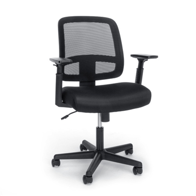 Ofm E3035 Budget Priced Black Mesh Computer Task Chairs