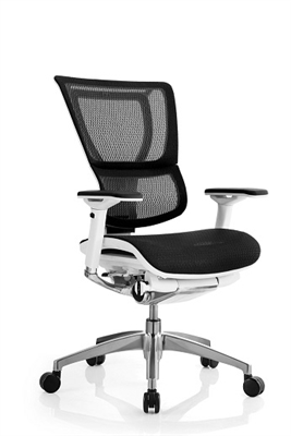 Eurotech Seating 39 S Ioo Mesh Office Chair With White Frame