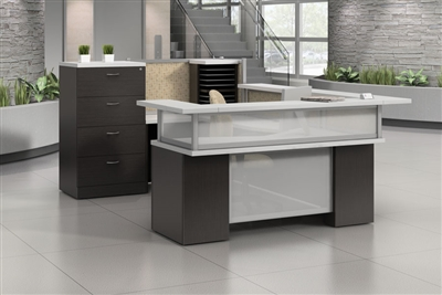 High End Reception Amp Lobby Desks From Boca Office Furniture